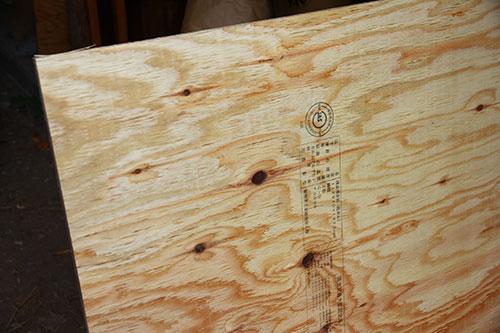 構造用合板 格安簡単小屋の準備 小屋大全