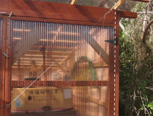 垂れ下がり防止ワイヤー3 格安簡単小屋の作業 小屋大全