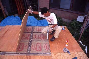 仮床 木工用ボンド